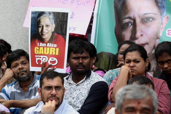 Hundreds-protest-the-killing-of-journalist-activist-Gauri-Lankesh
